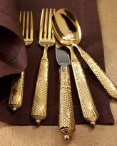 Yamazaki 5-Piece Byzantine Gold-Plated Flatware Place Setting