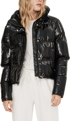 Noize Coco Water Resistant Crop Puffer Jacket