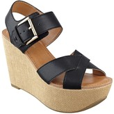Tommy Hilfiger Final Sale-Crisscross Buckle Wedge