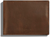 Shinola Men's Slim Leather Bi-Fold Wallet