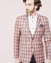 Riches Deluxe checked wool blazer
