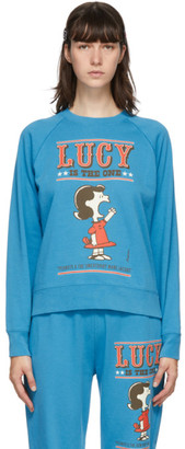 Marc Jacobs Blue Peanuts Edition French Terry Sweatshirt