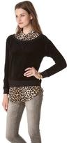 Juicy Couture Off Shoulder Sweatshirt