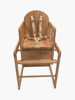 East Coast Nursery East Coast Combination Wooden Highchair