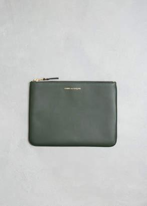 Comme des Garcons Classic Leather Line Zip Pouch