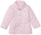 Ralph Lauren Girl Gingham Quilted Barn Jacket
