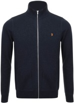 Farah Fermoy Full Zip Sweatshirt Navy