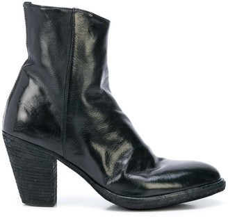 Officine Creative Joelle creased boots