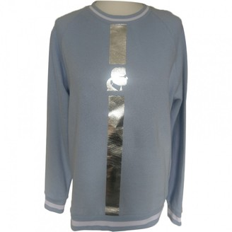 Karl Lagerfeld Paris Blue Cotton Knitwear for Women