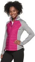 Fila Sport Women's SPORT Mixed-Media Jacket