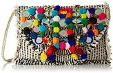 Antik Batik Women's Udipi Clutch multi-coloured