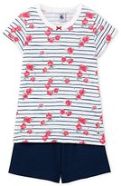 Petit Bateau Girl's Fiche Pyjama Sets