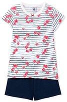 Petit Bateau Girl's Pyjacourt_22580 Secondary Sleeping Suits