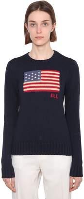 Polo Ralph Lauren Flag Cotton Knit Sweater