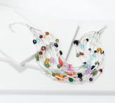 Linea By Louis Dell'olio by Louis Dell'Olio Silvertone Mardi Gras Necklace