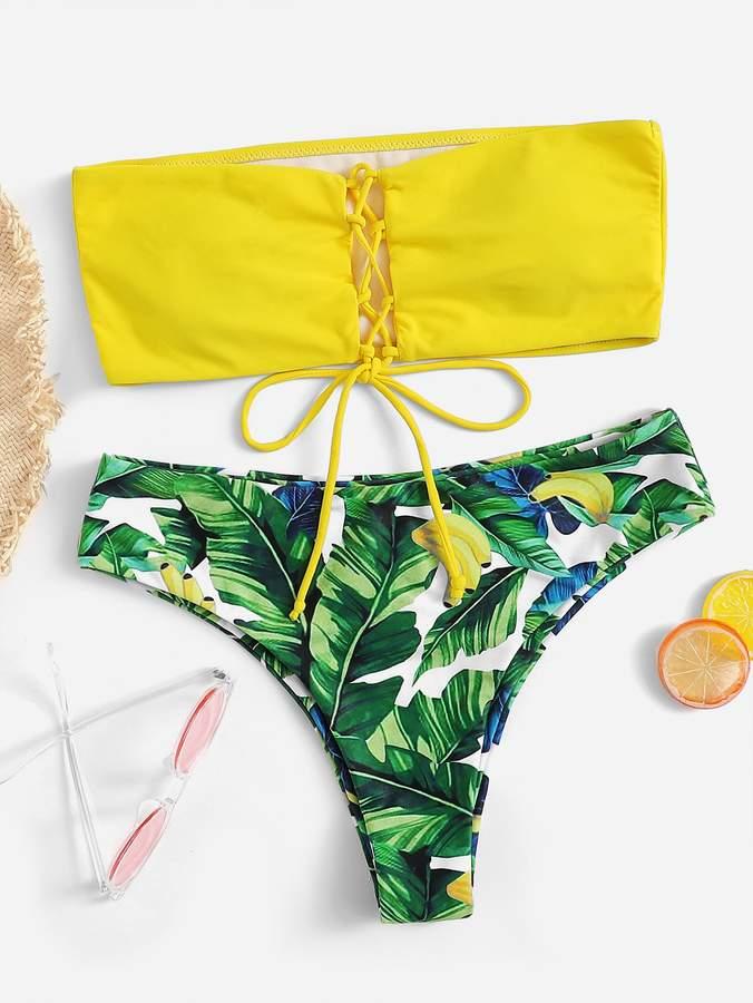 bb808e2011337 Palm Print Bikini - ShopStyle