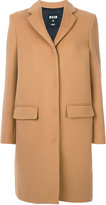 MSGM single breasted coat - women - Polyamide/Viscose/Wool - 38