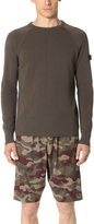 Halo Crew Neck Thermal Pullover