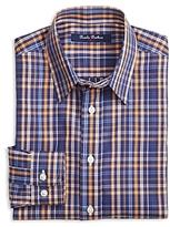 Brooks Brothers Boys' Non Iron Plaid Shirt - Big Kid