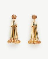Ann Taylor Metal Tassel Earrings