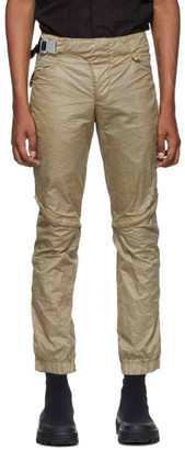 Alyx Tan Crescent Zip Trousers