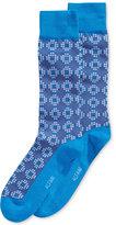 Alfani Men's Dot Grid Socks, Only at Macy's