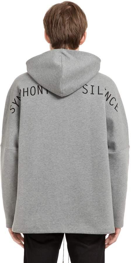 Oamc Oversized Sos Cotton Sweatshirt