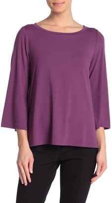 Eileen Fisher Flare Sleeve Top