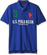 U.S. Polo Assn. Men's Team Pique Polo Shirt