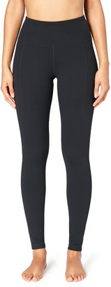 Core 10 Amazon Brand Womens Build Your Own Yoga Pant - High Waist Full-Length Legging 2X (Tall Inseam)