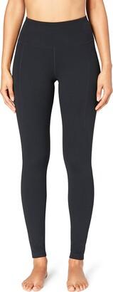 Core 10 Amazon Brand Womens Build Your Own Yoga Pant - High Waist Full-Length Legging M (Tall Inseam)