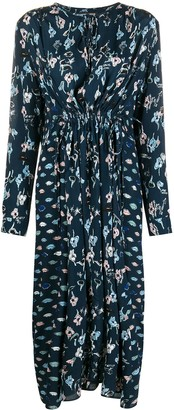 Markus Lupfer Evelyn floral midi dress