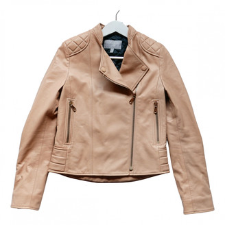 Mulberry Camel Leather Leather jackets