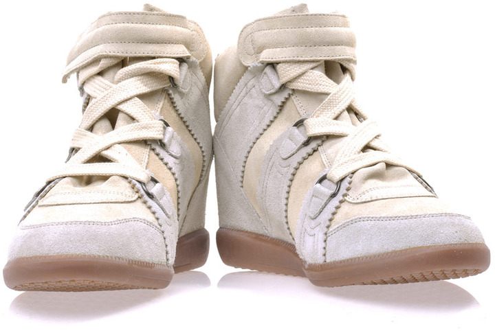 Isabel Marant Bluebell hidden wedge trainers