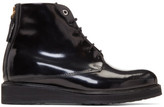 WANT Les Essentiels Black Patent Menara Boots