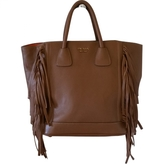 Prada Leather Shopping Bag