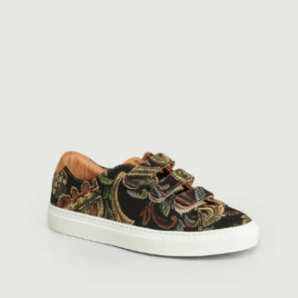 Le Lissier - Tapestry Scratch Sneakers - 39