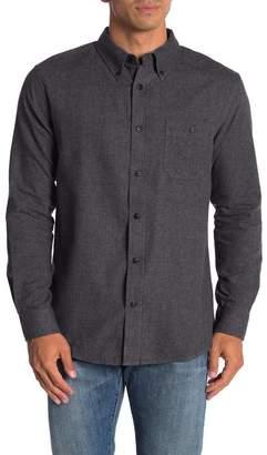 Weatherproof Vintage Solid Flannel Long Sleeve Shirt