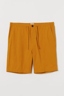 H&M Cotton Shorts - Yellow