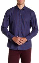 Zachary Prell Plaid Long Sleeve Trim Fit Shirt