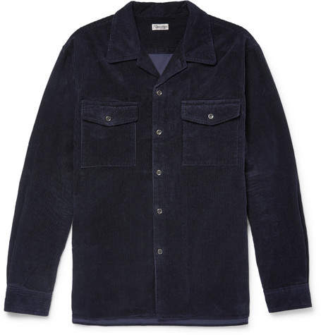Camoshita Cotton-Corduroy Overshirt