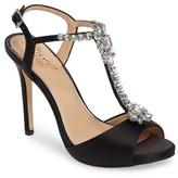 Badgley Mischka Women's Leeane T-Strap Sandal
