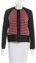 Proenza Schouler Leather-Accented Casual Jacket