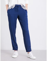 French Connection Altman chambray jogging bottoms