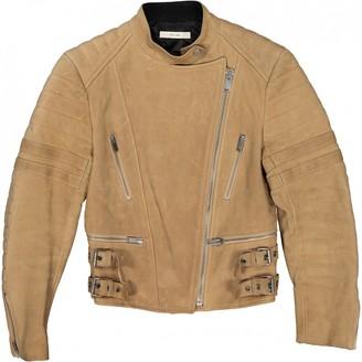 Celine Beige Leather Jacket for Women