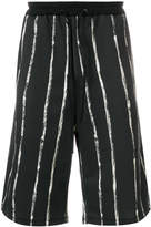 3.1 Phillip Lim Painted-stripe shorts