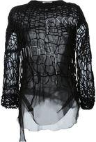 A.F.Vandevorst light knit top - women - Nylon - S