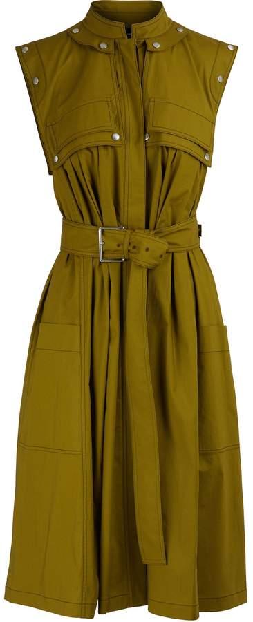 Proenza Schouler Belted midi dress