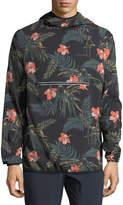 Spiritual Gangster Ignite Floral-Print Anorak Pullover Jacket