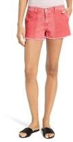 Frame Women's Le Cutoff Color Shadow Pocket Denim Shorts
